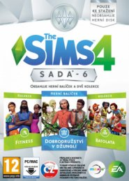 PC - THE SIMS 4 BUNDLE PACK 6  (5030949122308)