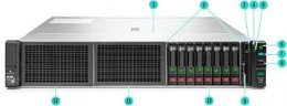 HPE DL180 Gen10 3106, 16GB,  8SFF Base Svr  (879513-B21)