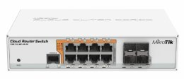 MikroTik CRS112-8P-4S-IN  Cloud Router Switch  (CRS112-8P-4S-IN)