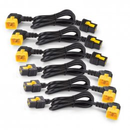 Power Cord Kit (6 ea),Locking,C13toC14 (90Dg),0.6m  (AP8702R-WW)